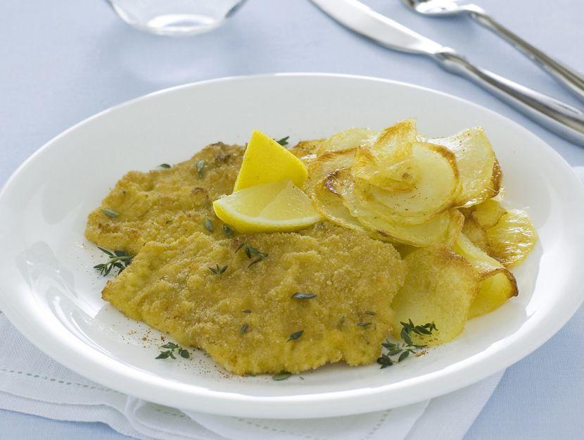cotoletta-e-patate preparazione
