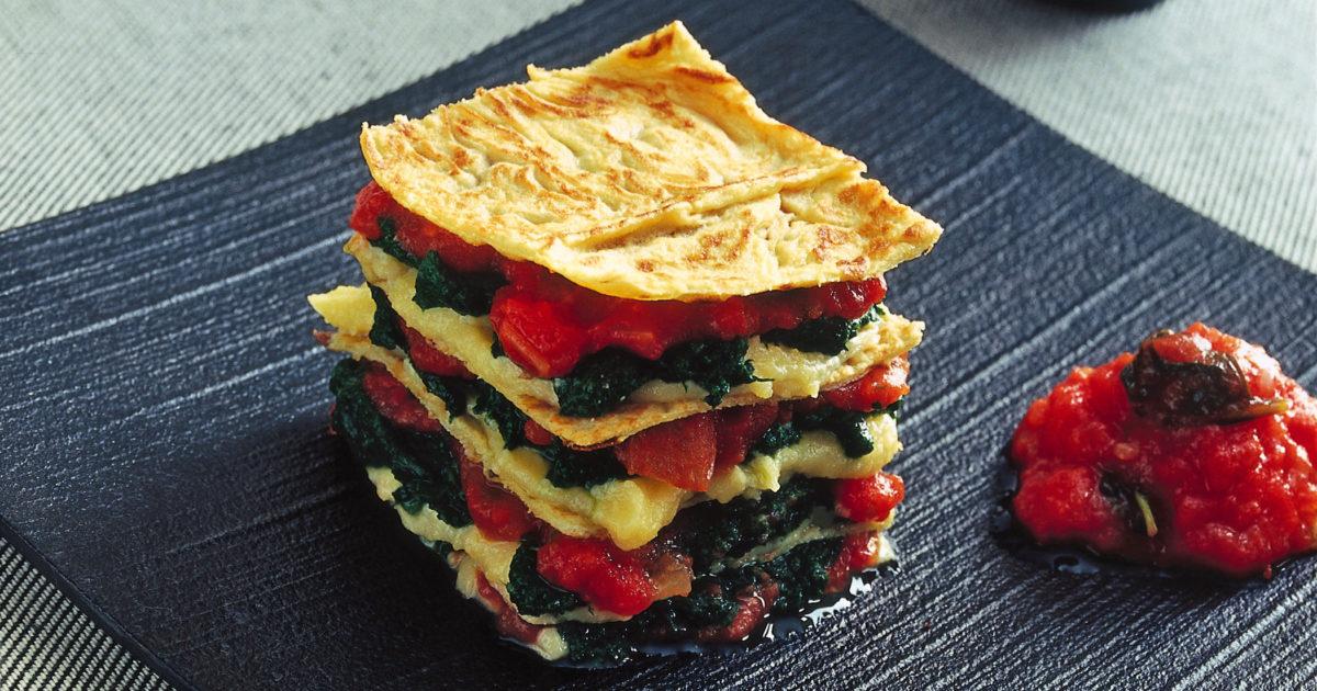 Ricetta Crepes Farina Di Quinoa.Tortine Salate Di Crepes Di Quinoa Donna Moderna