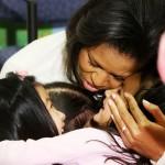 Obama e i Kennedy: quanti abbracci