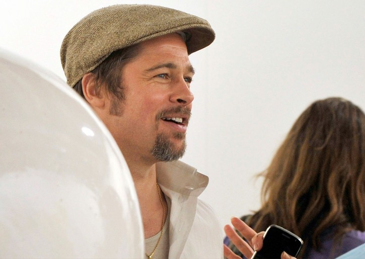 Tra le opere d'arte di Basilea c'è anche Brad Pitt
