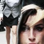 Amy Winehouse (ripulita nel look per il tribunale). Da copiare?