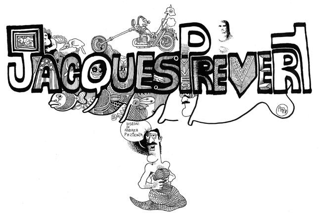 Mostra: Andrea Pazienza disegna Prévert