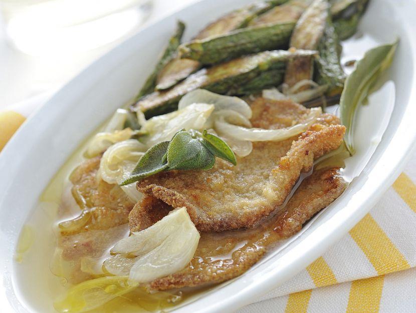 cotolettine-e-zucchine-in-carpione immagine