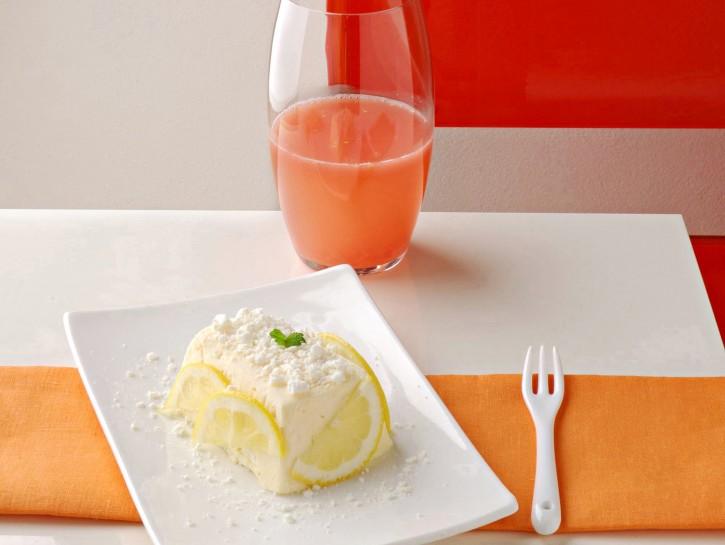 Semifreddo al limone con meringhe
