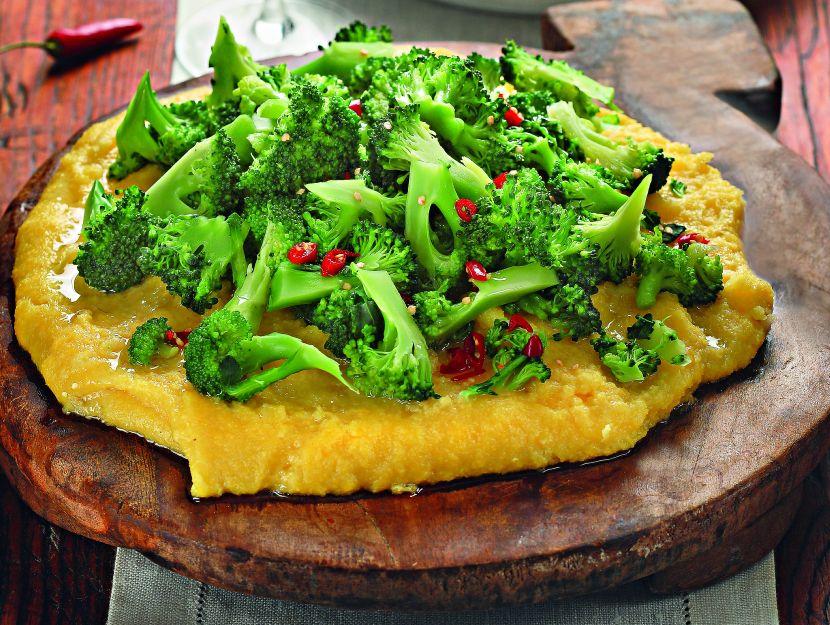 polenta-e-broccoli