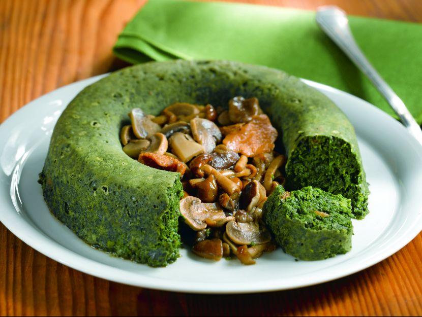 sformato-di-spinaci-con-funghi