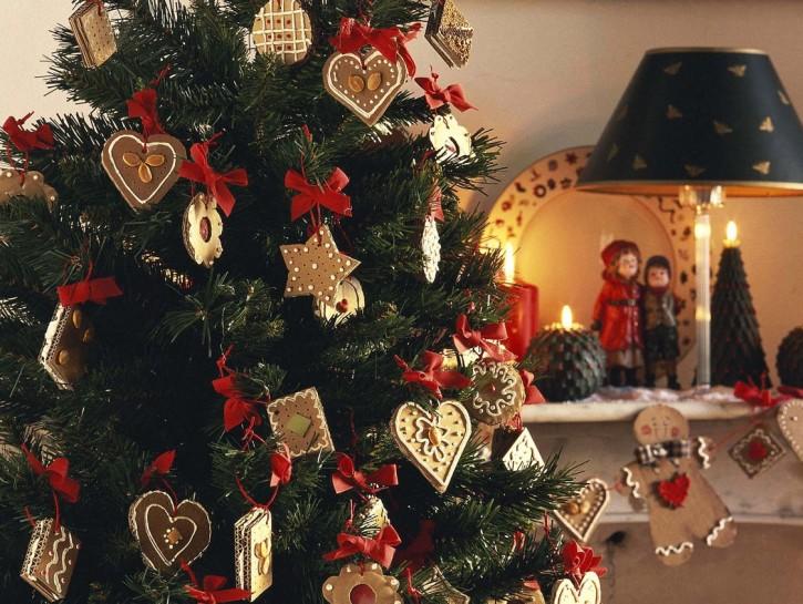 Albero Di Natale Con Biscotti.Biscotti Di Cartone Per L Albero Di Natale Donna Moderna