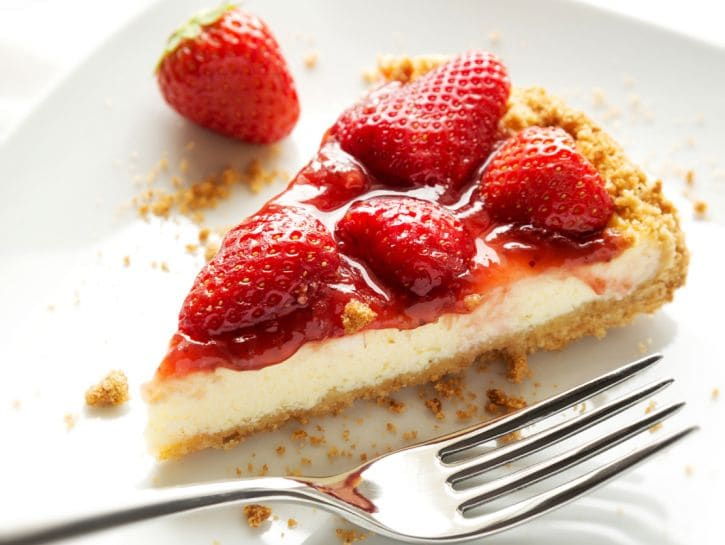 Cheesecake alle fragole - Credits: Shutterstock