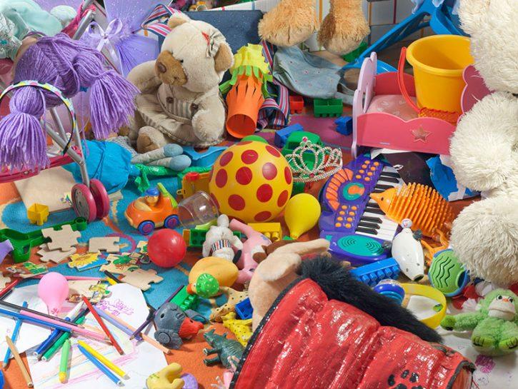 disordine giocattoli