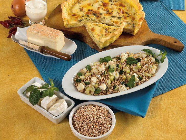 insalata-di-farro-e-zucchine ricetta