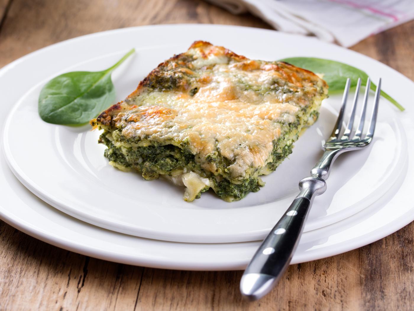 Ricetta Lasagne E Spinaci.Ricetta Lasagne Ricotta E Spinaci Donna Moderna