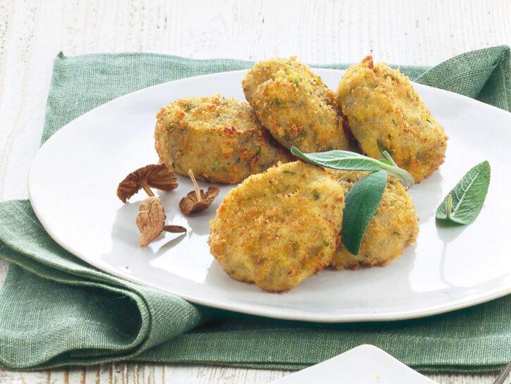 Crocchette di patate e funghi