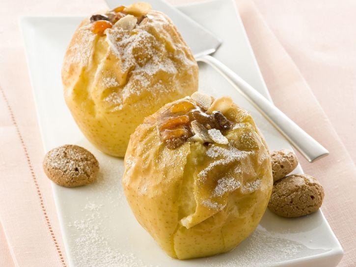 mele-ripiene-al-forno preparazione
