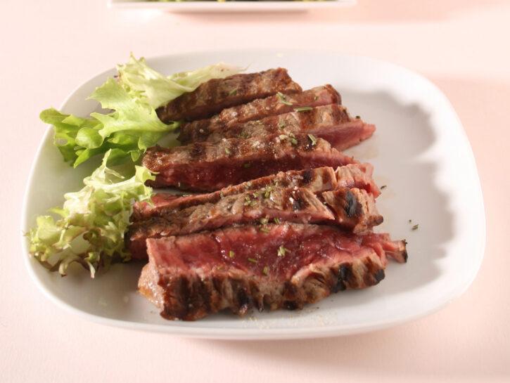 Tagliata di carne alla brace