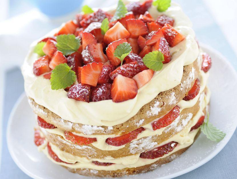 torta-di-fragole-con-crema-al-marsala