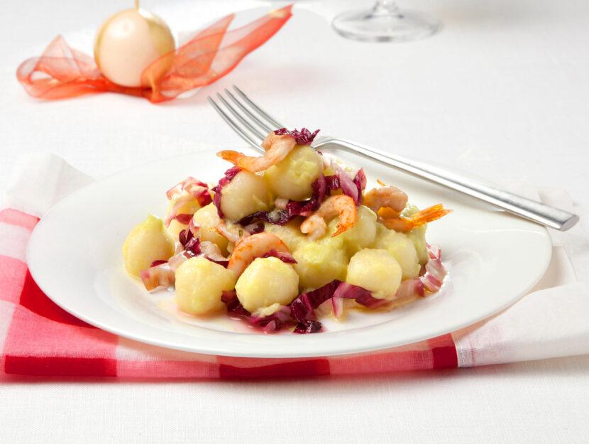 Gnocchi di patate senza glutine con sugo fantasia