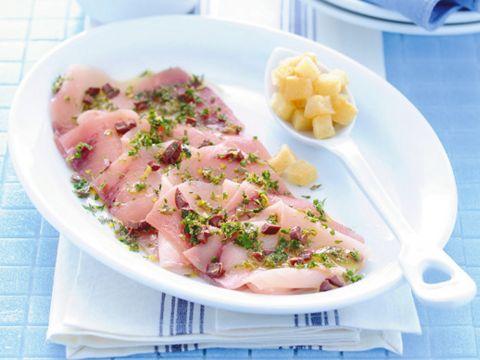 Carpaccio di pesce o di carne: 20 ricette leggere