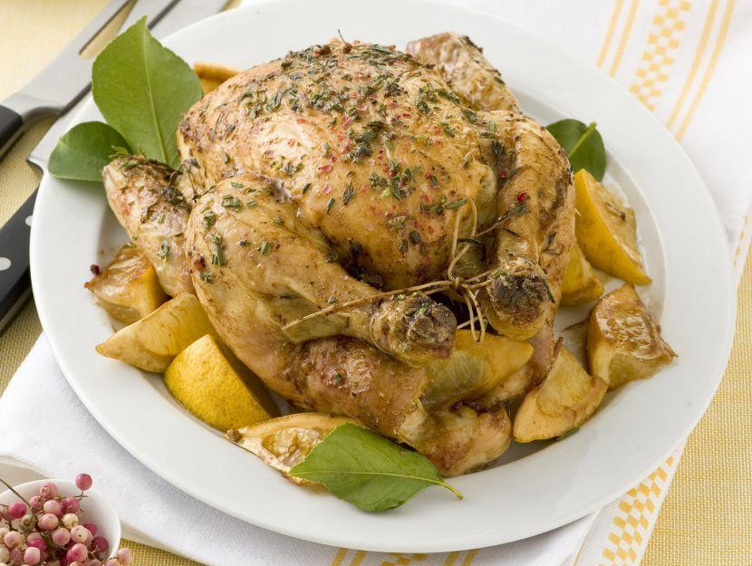 pollo-arrosto-al-limone ricetta