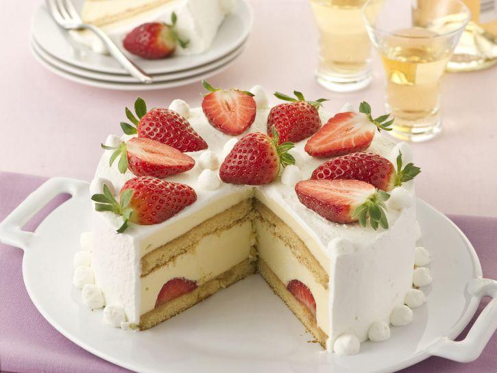 torta-fragole-e-crema immagine