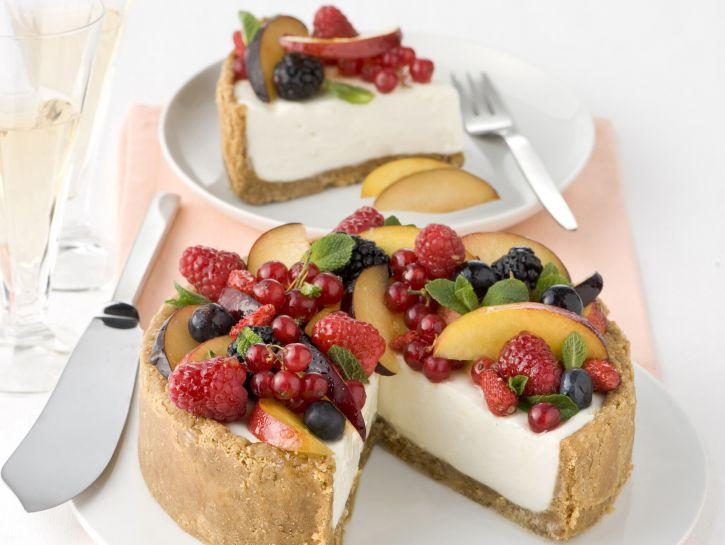 cheesecake-alla-frutta-fresca immagine