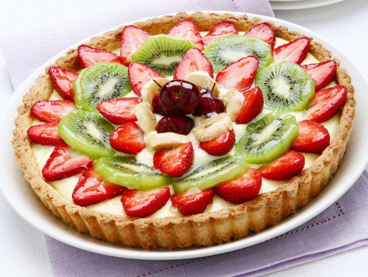crostata-di-frolla-al-cocco-e-frutta-mista preparazione