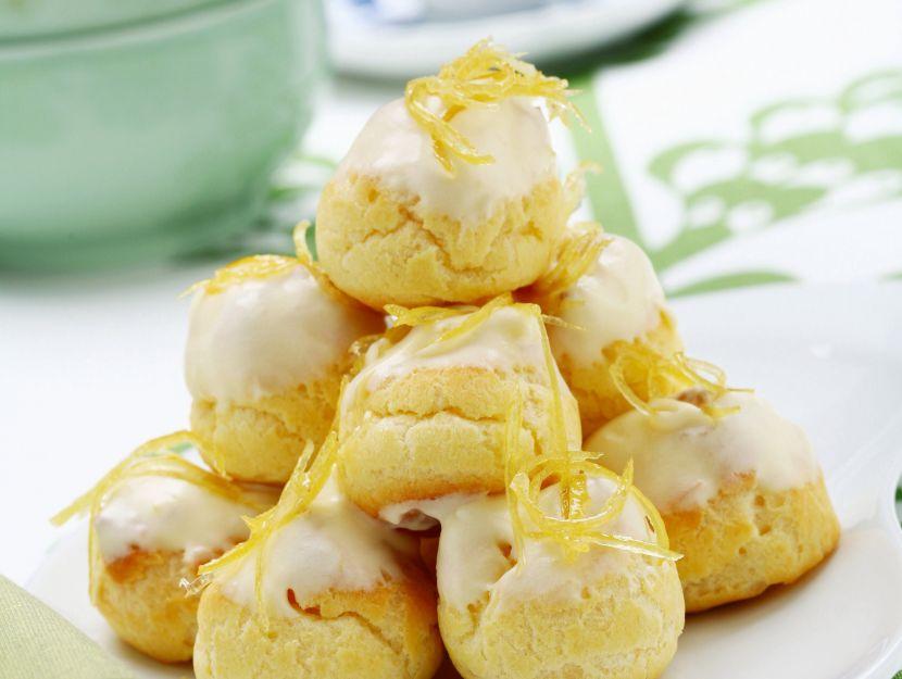 profiteroles-con-crema-al-limone preparazione