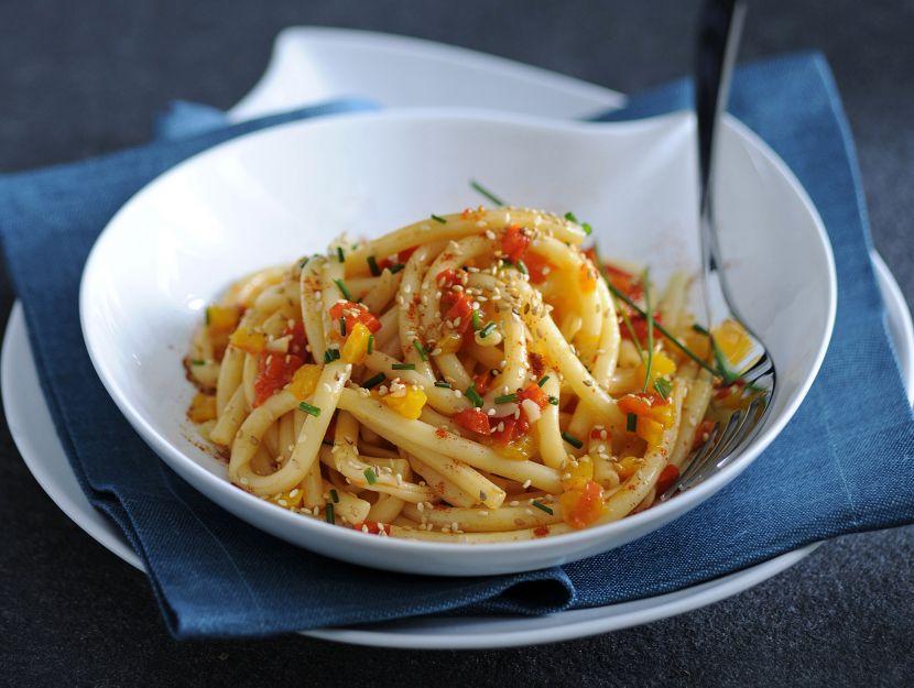 maccheroni-a-ferretto-alla-paprica-piccante ricetta