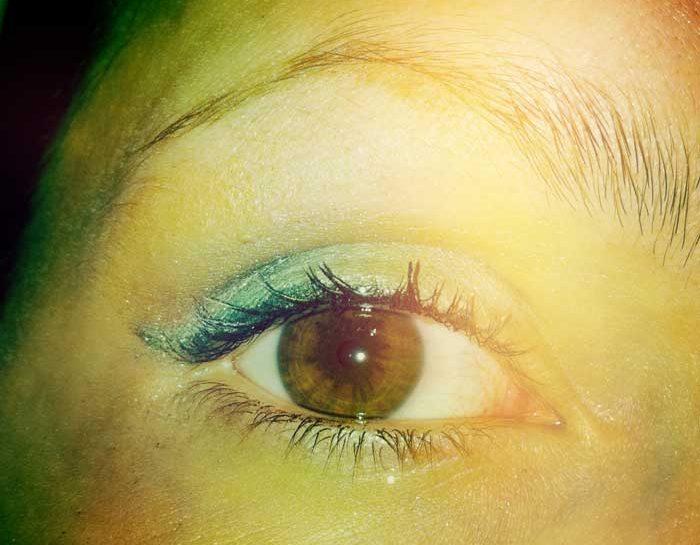occhi-trucco-make-up-verde-castani-notte