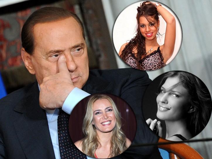 Silvio Berlusconi, Ruby e le altre