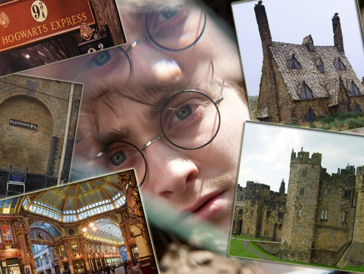 harry potter luoghi cover