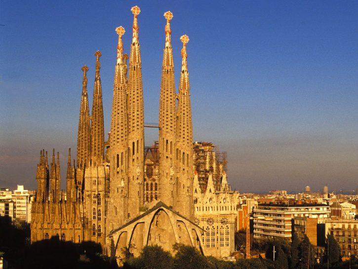 la Sagrada Familia a Barcellona
