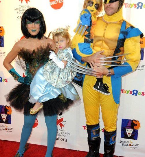 Tori Spelling e famiglia per Halloween