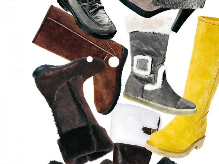 copertina scarpe neve