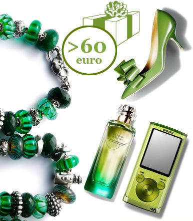 regali verde preziosi