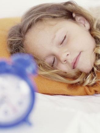 la sveglia dei bambini