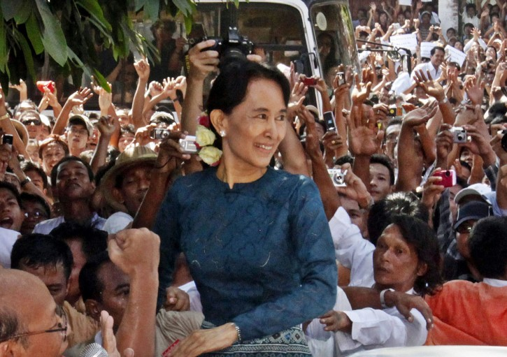 Aung San Suu Kyi è stata liberata