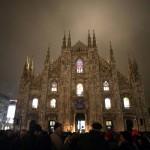 Il Duomo di Milano illuminato