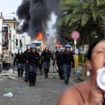 Proteste violente a Terzigno per i rifiuti tossici