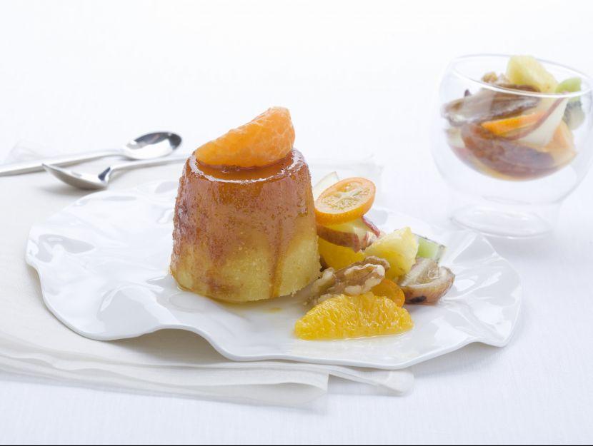 budino-di-semolino-e-frutta immagine
