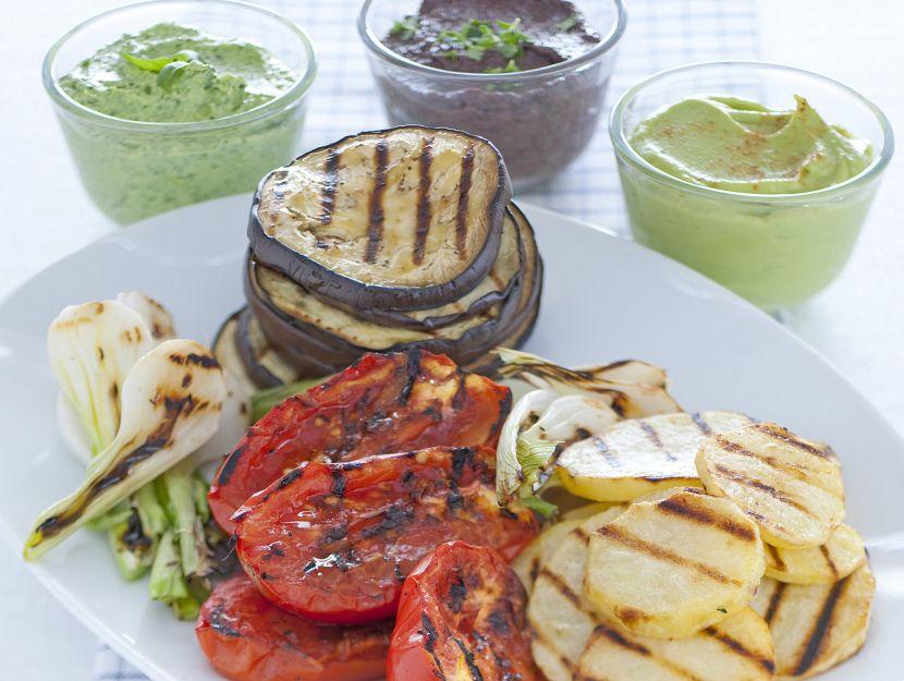 verdure-grigliate-con-salse immagine