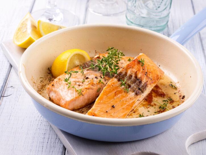 Salmone al forno - Credits: Olycom