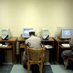 L'uso del computer in una scuola del Cairo