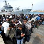 5.000 immigrati a Lampedusa