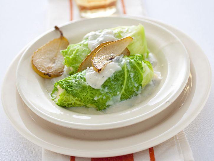involtini-di-verza-al-gorgonzola-e-pere immagine