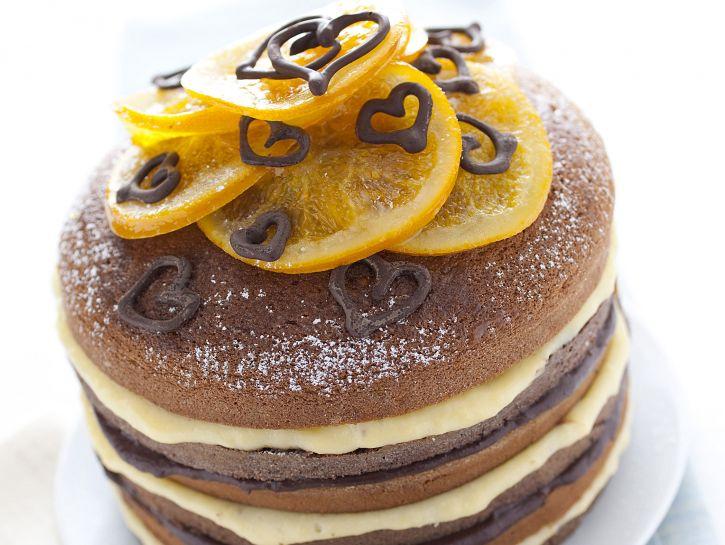 torta-doppia-allarancia-e-cioccolato immagine