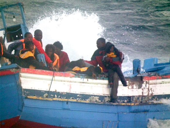 Sbarco di migranti a Pantelleria