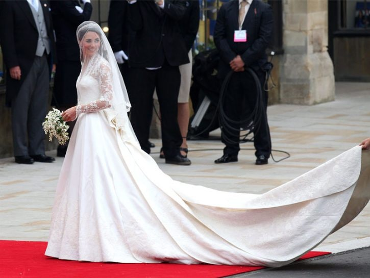 Kate Middleton, sposa reale
