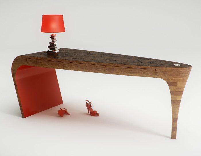 Il tavolo è erotico come uno stiletto