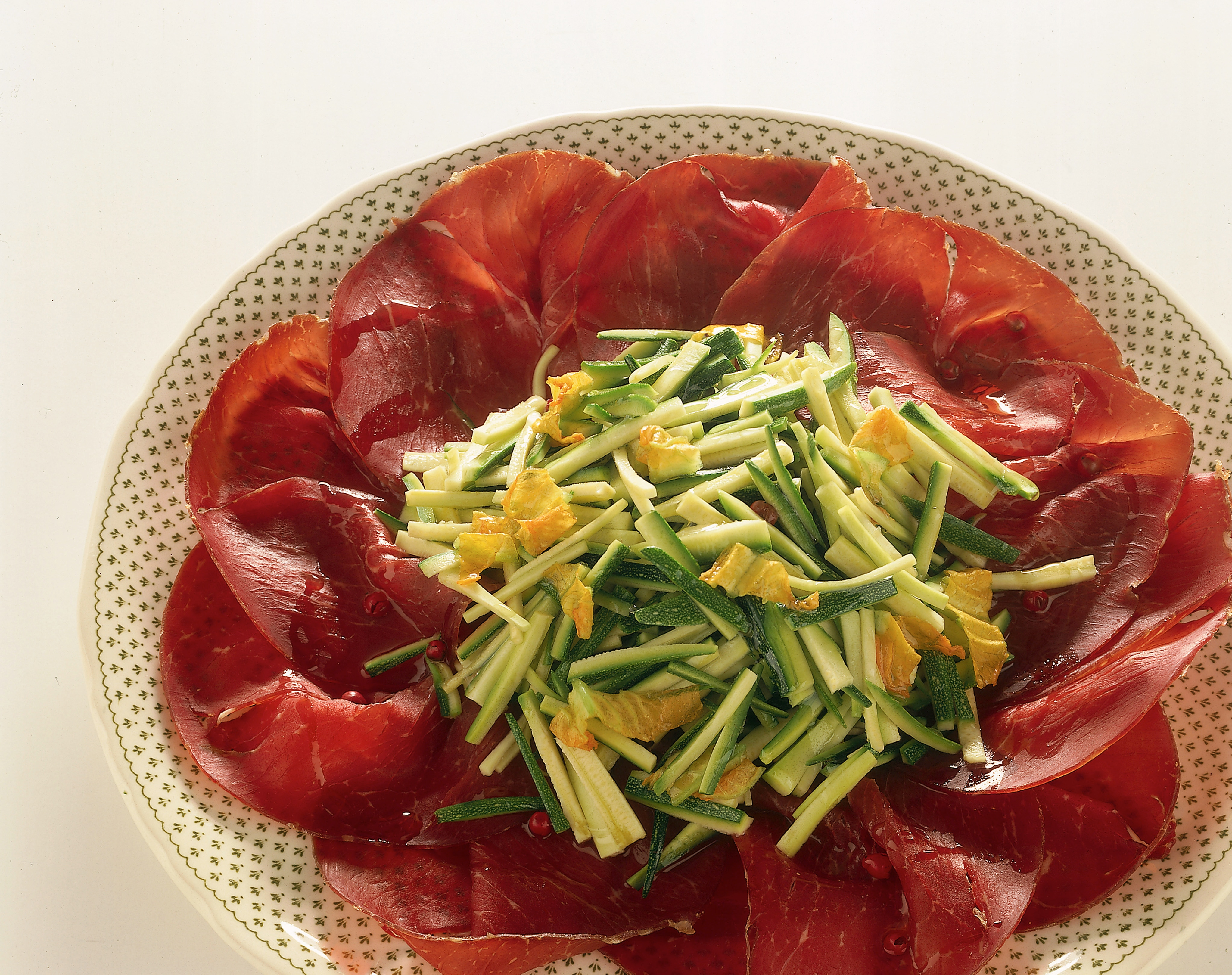 Ricetta Bresaola Con Zucchine Donna Moderna