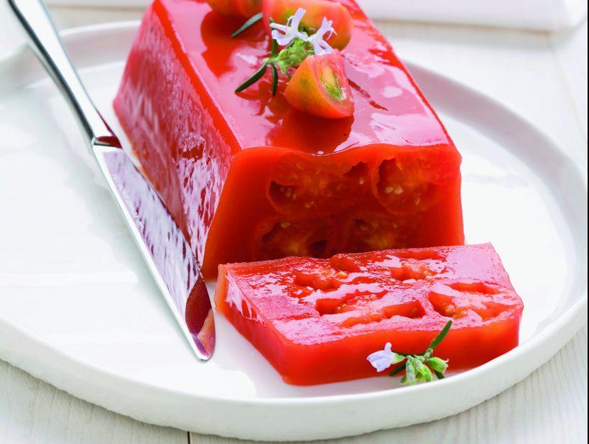 terrina-di-pomodori-in-gelatina ricetta